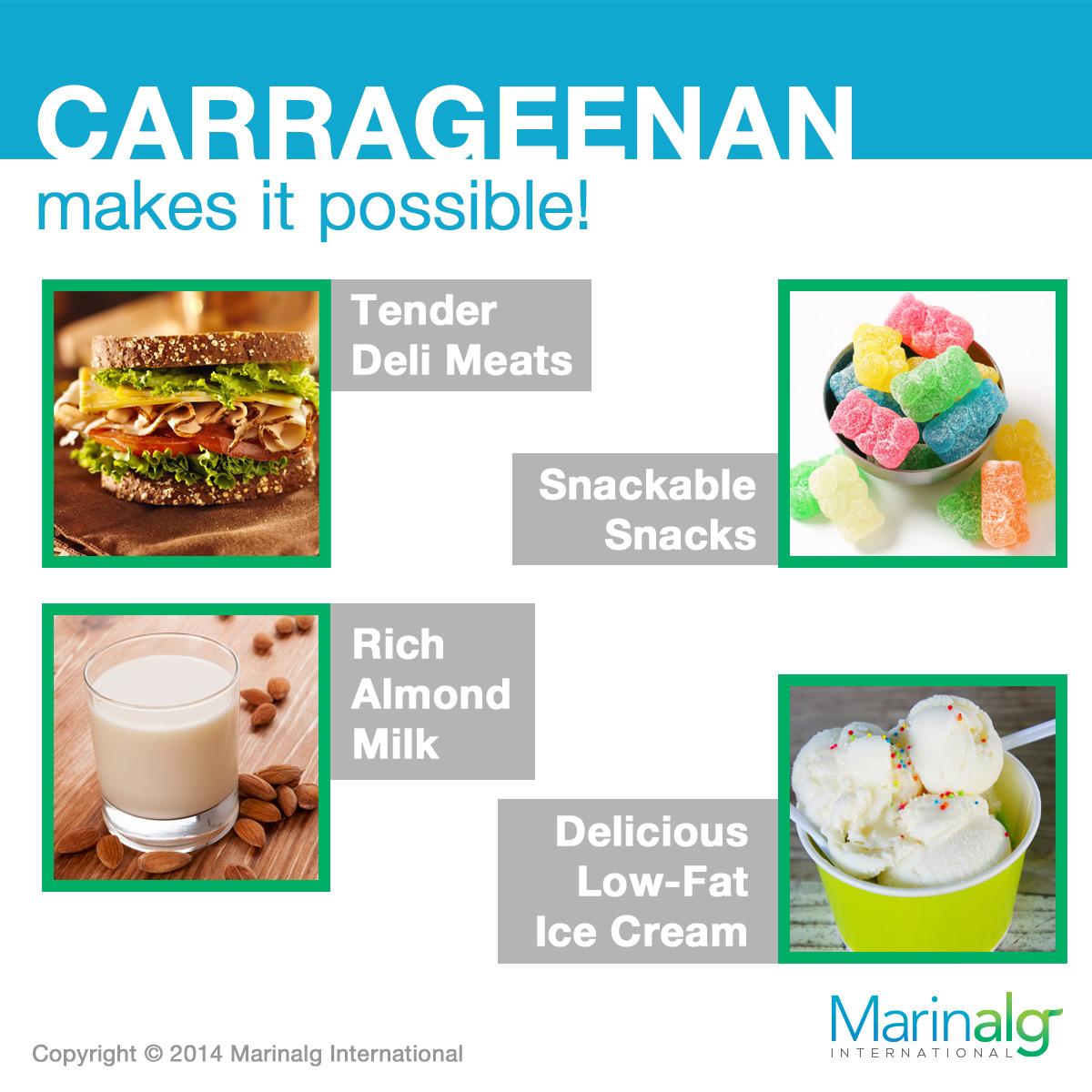 Carrageenan Free Foods